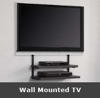 We fit wall-mounted tvs in the Lancashire area